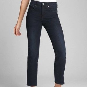 GAP Washwell Mid Rise Classic Straight Jeans 31T